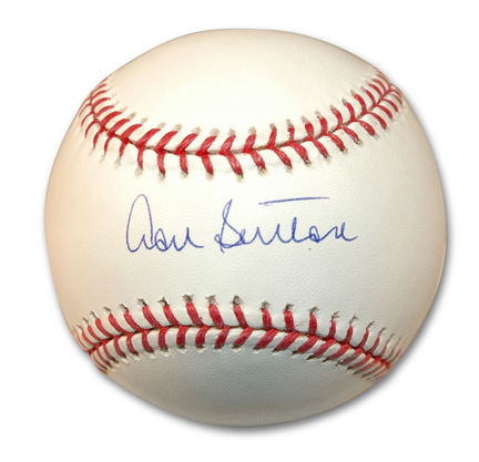 Don Sutton Autographed Baseball