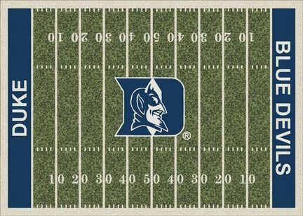 "Duke Blue Devils 3' 10"" x 5' 4"" Home Field Area Rug"