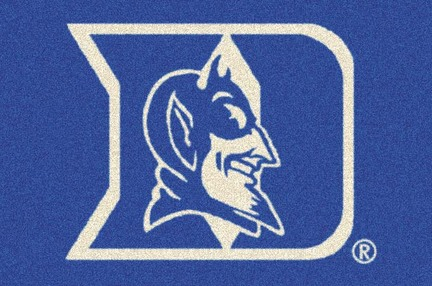 "Duke Blue Devils 3'10""x 5'4"" Team Spirit Area Rug"