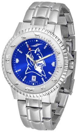 Duke Blue Devils Competitor AnoChrome Men's Watch with Steel Band