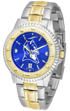 Duke Blue Devils Competitor AnoChrome Two Tone Watch