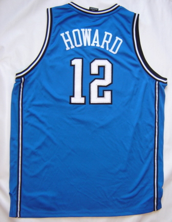 Dwight Howard Orlando Magic Authentic Reebok Blue / Away NBA Basketball Jersey