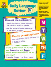 EVAN-MOOR EMC583 DAILY LANGUAGE REVIEW GR. 5