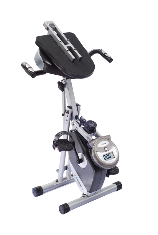 EXERPEUTIC 400XL FOLDING SEMI-RECUMBENT BIKE