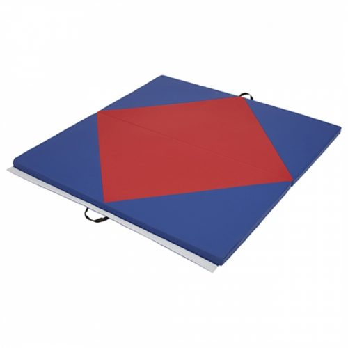 Early Childhood Resources ELR-12205-RDBL 4 x 4 in. SoftZone Diamond Play Mat Red & Blue