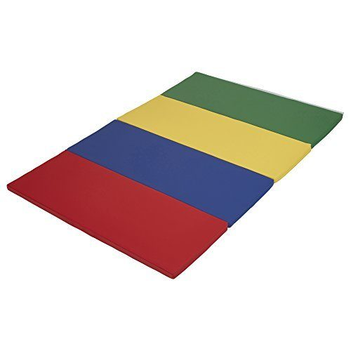Early Childhood Resources ELR-12206-AS 4 x 6 in. SoftZone Runway Tumbling Mat Primary