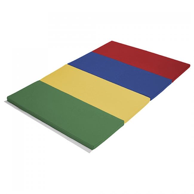 Early Childhood Resources ELR-12206-BL 4 x 6 in. SoftZone Runway Tumbling Mat Blue