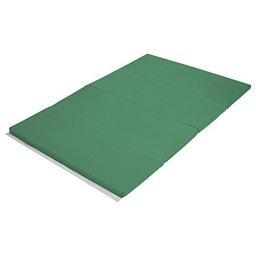 Early Childhood Resources ELR-12206-EM 4 x 6 in. SoftZone Runway Tumbling Mat Emerald