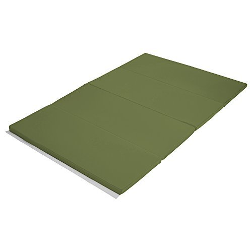 Early Childhood Resources ELR-12206-HG 4 x 6 in. SoftZone Runway Tumbling Mat Hunter Green
