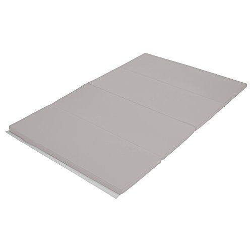 Early Childhood Resources ELR-12206-LG 4 x 6 in. SoftZone Runway Tumbling Mat Light Grey