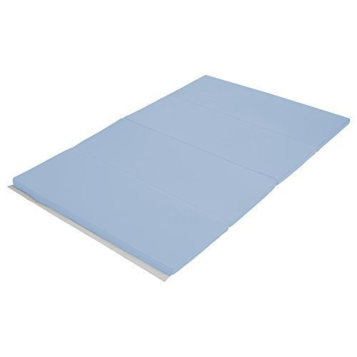 Early Childhood Resources ELR-12206-PB 4 x 6 in. SoftZone Runway Tumbling Mat Powder Blue