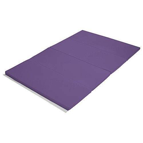 Early Childhood Resources ELR-12206-PU 4 x 6 in. SoftZone Runway Tumbling Mat Purple