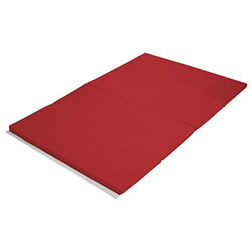 Early Childhood Resources ELR-12206-RD 4 x 6 in. SoftZone Runway Tumbling Mat Red
