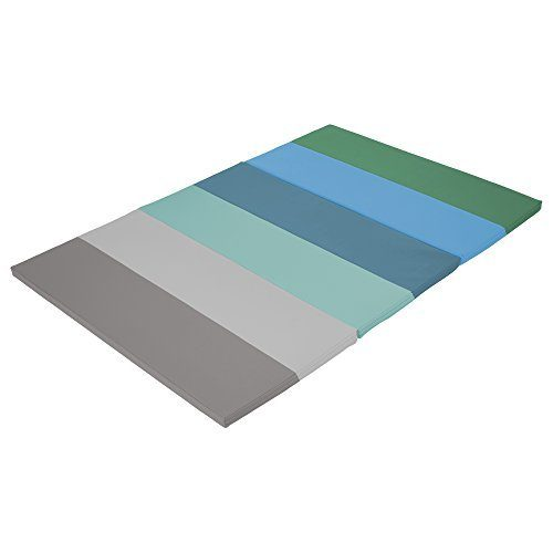 Early Childhood Resources ELR-12207-CT 4 x 6 in. SoftZone Rainbow Runway Tumbling Mat Contemporary