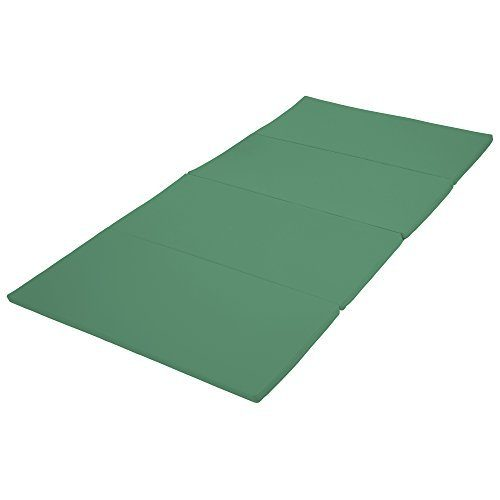 Early Childhood Resources ELR-12208-EM 4 x 8 in. SoftZone Runway Tumbling Mat Emerald