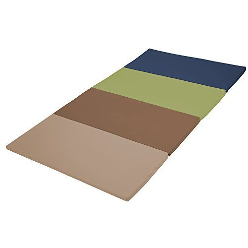 Early Childhood Resources ELR-12208-ET 4 x 8 in. SoftZone Runway Tumbling Mat Earthtone