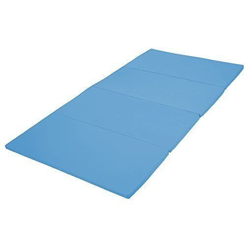 Early Childhood Resources ELR-12208-FB 4 x 8 in. SoftZone Runway Tumbling Mat French Blue