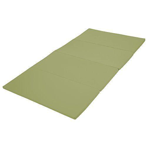 Early Childhood Resources ELR-12208-FG 4 x 8 in. SoftZone Runway Tumbling Mat Fern Green