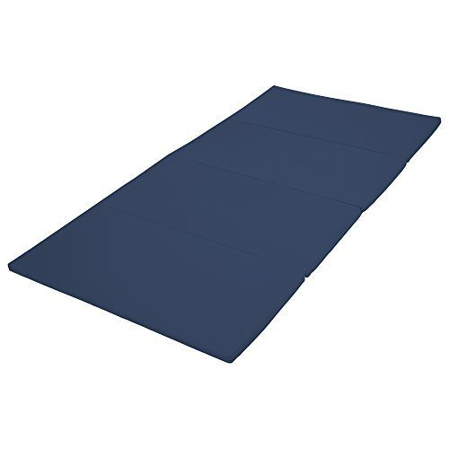 Early Childhood Resources ELR-12208-NV 4 x 8 in. SoftZone Runway Tumbling Mat Navy