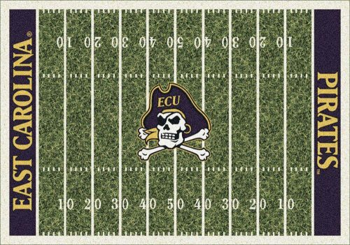 "East Carolina Pirates 3' 10"" x 5' 4"" Home Field Area Rug"