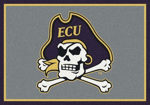 "East Carolina Pirates 3'10""x 5'4"" Team Spirit Area Rug"