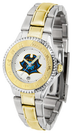 East Tennessee State Buccaneers Competitor Ladies Watch with Two-Tone Band