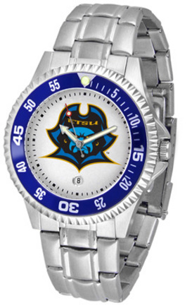 East Tennessee State Buccaneers Competitor Watch with a Metal Band