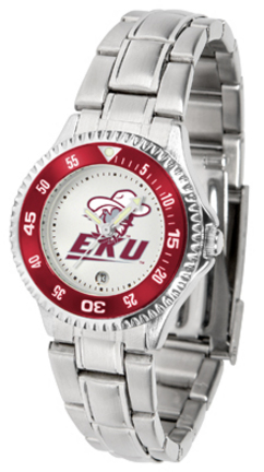 Eastern Kentucky Colonels Competitor Ladies Watch with Steel Band