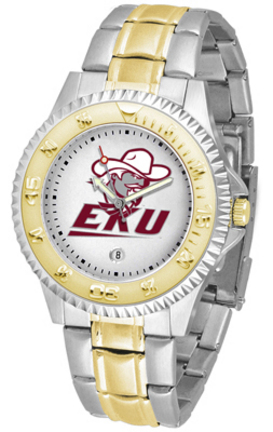 Eastern Kentucky Colonels Competitor Two Tone Watch