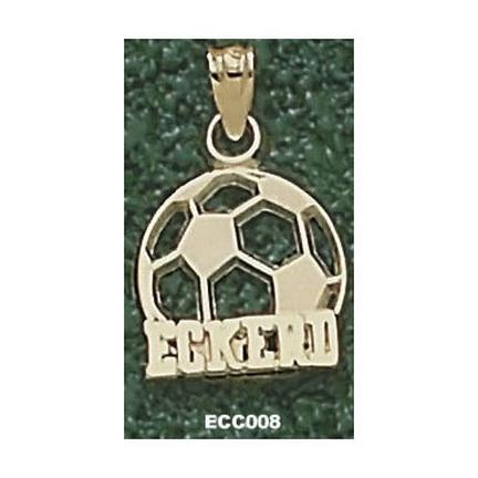 "Eckerd College Tritons ""Eckerd Soccerball"" Pendant - 10KT Gold Jewelry"