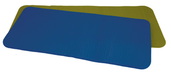 Ecowise 31675 49 in. Deluxe Pilates and Fitness Mat- Ocean Blue