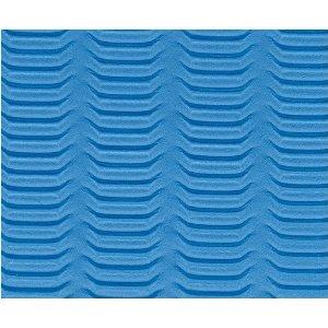 Ecowise 31684 Yoga Mat - Ocean Blue