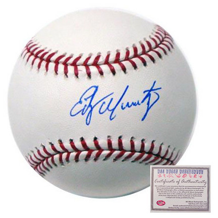 Edgar Martinez Seattle Mariners Autographed Rawlings MLB Baseball