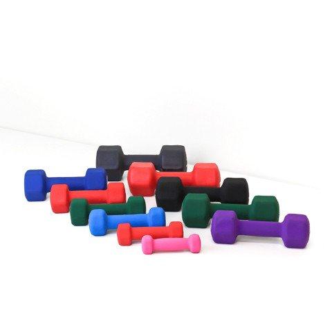 Element Fitness E-200-NEO12 Neoprene DumbBells 12 lbs.