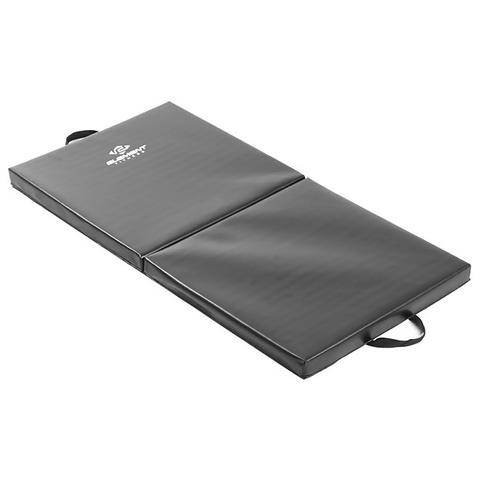 Element Fitness E-4421 2 in. 2 x 4 ft. Folding Mat - Black