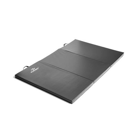 Element Fitness E-4423 2 in. 4 x 6 ft. Folding Mat - Black