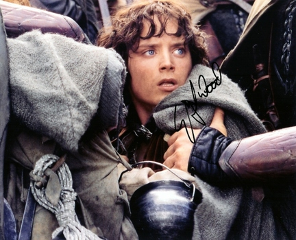 "Elijah Wood Autographed ""Lord of the Rings"" 8"" x 10"" Photograph (Unframed)"