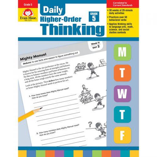 Evan-Moor EMC3275 Daily Higher-Order Thinking Grade 5
