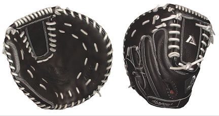 "Fastpitch Praying Mantis Series 34.5"" Spiral-Lock Web Catcher's Glove by Akadema Professional (Left Hand Throw)"