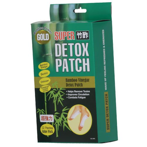 Feature Stage USJ580 Bamboo Vinegar Delox Foot Patch 32 Patches