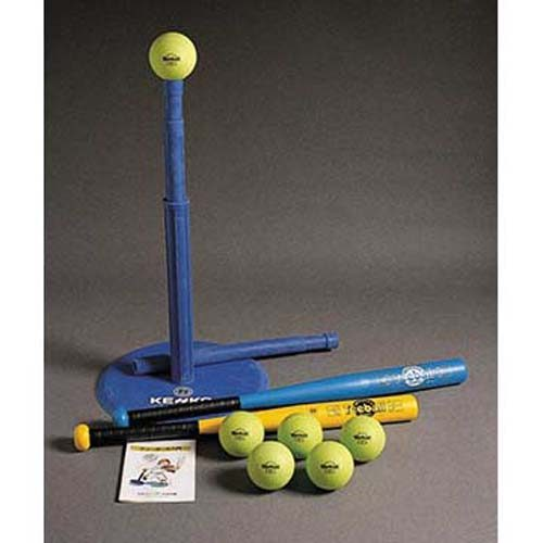 First Steps Softball Tee Bat Set from Kenko