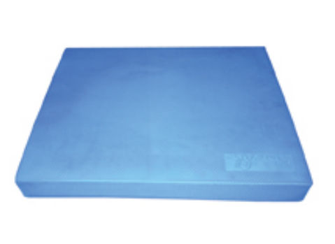 FitBALL FBMAT-BP Balance Pad 15 in. x 18.25 in. x 2 in. Blue - Generic Brown Box