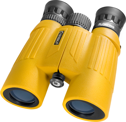 Floatmaster 10x30 Floating Binocular with Blue Lens (Yellow)