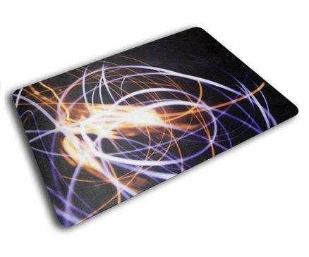 Floortex Colortex 229220ECLS UltiMat Polycarbonate Chair Mat for Low Pile Carpets and Hard Floors Light Swirl Design 36 X 48 In.