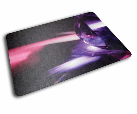 Floortex Colortex 229220ECRG UltiMat Polycarbonate Chair Mat for Low Pile Carpets and Hard Floors Reflective Gem Design 36 X 48 In.