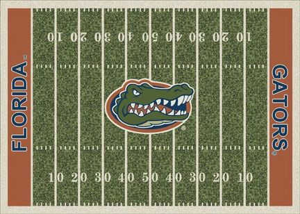 "Florida Gators 3' 10"" x 5' 4"" Home Field Area Rug"
