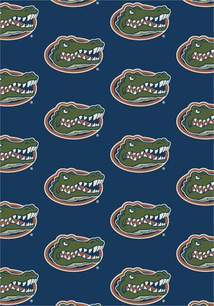 "Florida Gators 3' 10"" x 5' 4"" Team Repeat Area Rug"