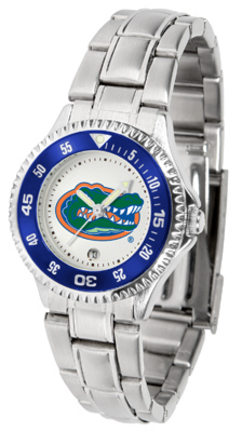 Florida Gators Competitor Ladies Watch with Steel Band