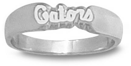 "Florida Gators ""Gators"" Ladies' Ring Size 7 1/4 - Sterling Silver Jewelry"