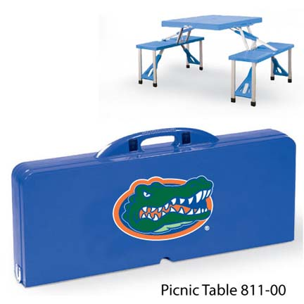 Florida Gators Portable Folding Table and Seats